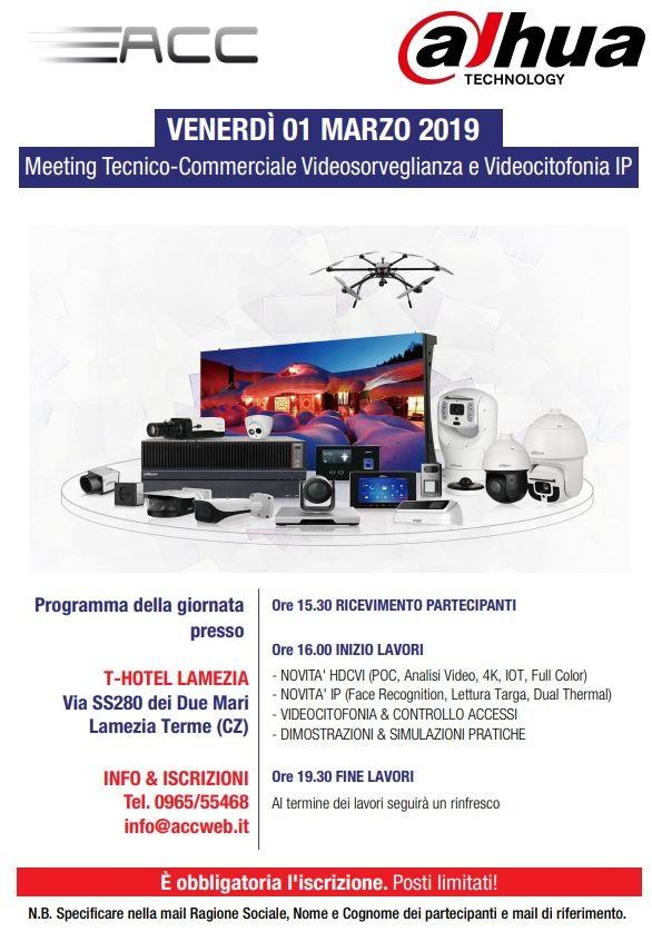 meeting videosorveglianza e videocitofonia Ip in Calabria